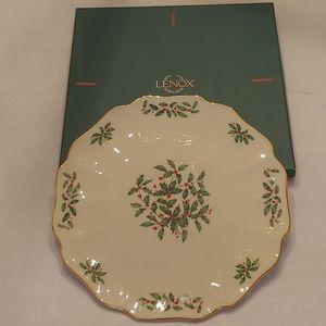 Lenox Holiday Cake Platter